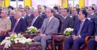 بالفيديو ... الرئيس السيسى يطلق صافرة العمل لقناطر أسيوط الجديدة