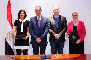 """وزير الاتصالات يشهد توقيع اتفاقية بين """" ايتيدا """" وشركة """" انديلا العالمية """""""