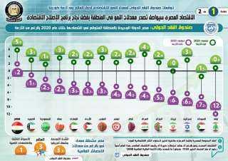 بالإنفوجراف.. الاقتصاد المصرى سيواصل تصدر معدلات النمو في المنطقة بفضل نجاح برنامج الإصلاح الاقتصادي