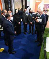 """"""" اتصالات مصر"""" تشارك بفعاليات الدورة ال 24 في معرض كايرو أي سي تي تحت شعار """" كن متصلا"""""""