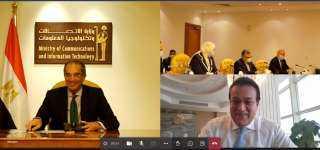 """بروتوكول تعاون بين """" الاتصالات"""" و """" البحث العلمي"""" لإنشاء مركز إبداع مصر الرقمية بالفيوم"""